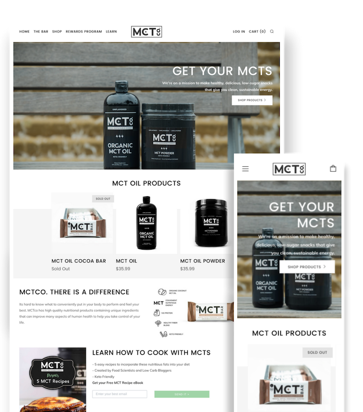 Web Design Portfolio - MCTco