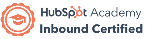 Hubspot Inbound Marketing Certification Badge